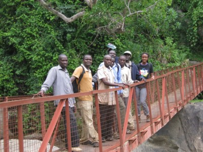 Figure 4. The Marakwet research team.